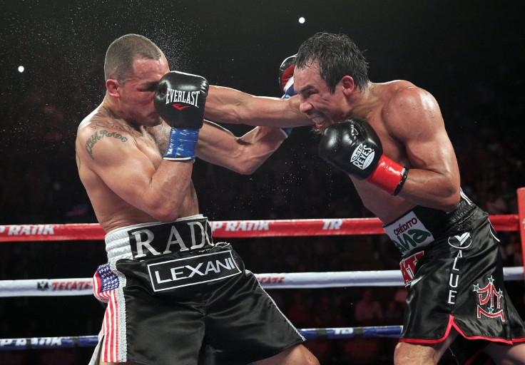 If Mike Alvarado is going to take the sort of beating he absorbed from Juan Manuel Marquez on Saturday, he should at least do it on his own terms.